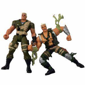 GI Joe Extreme 1995 Good vs Evil Figures Toys